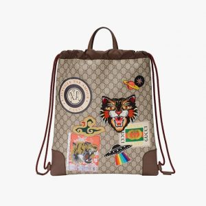 Gucci Courrier Supreme drawstring backpack