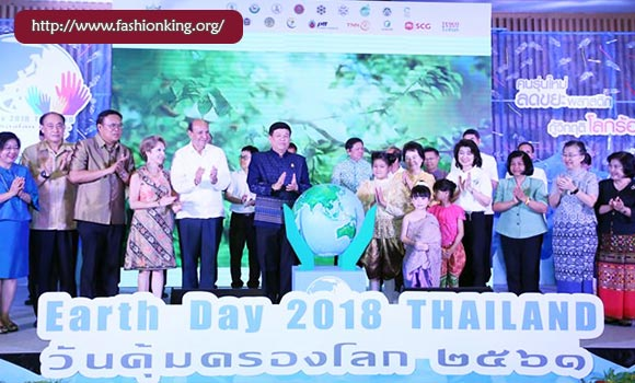 Celebrates Earth Day 2018, Thailand
