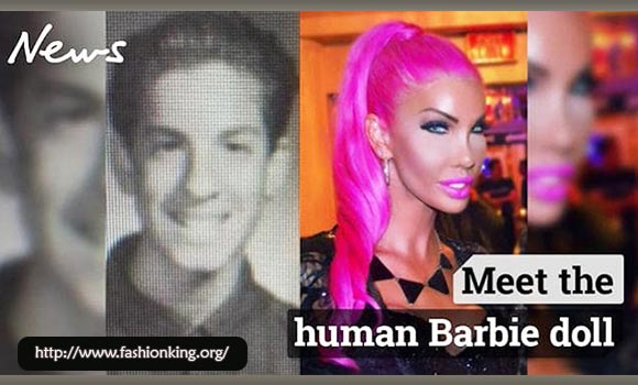 "WOW ! Nikki Exotika : Transgender ""Barbie"" Blows $1M On Plastic Surgery"