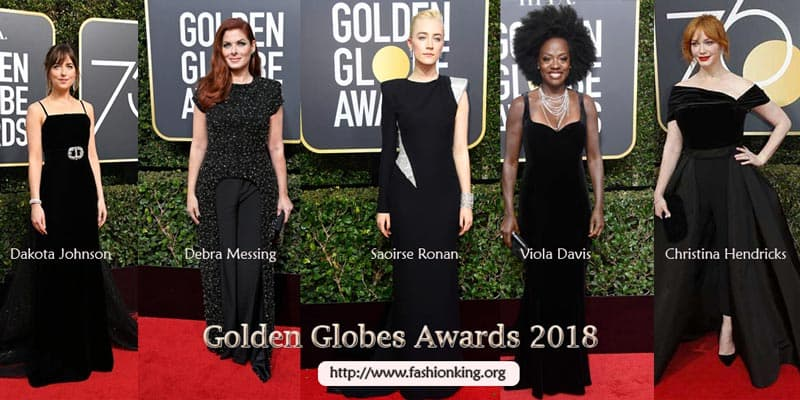 Best Dressed Golden Globes Awards 2018