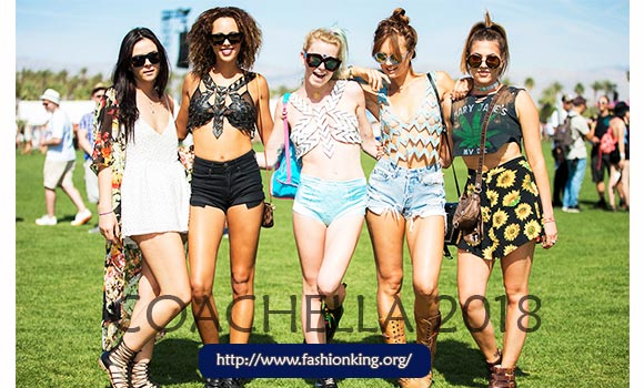 Best Celeb Fashion Trend at Coachella 2018