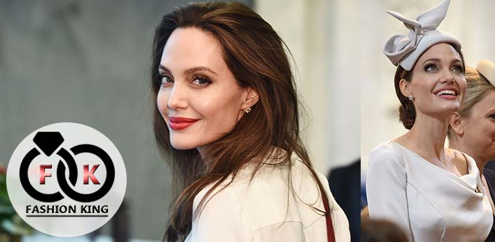 Beautiful Style, When Angelina Jolie Dress Up Like A British Baker