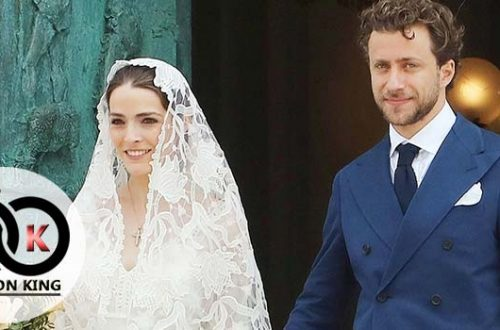 Beautiful Princess Vogue, Simple Show When Married in Italy