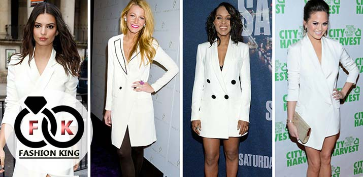 This is the Inspiration to Use Blazer from Celebrities that You Can Follow to Appear Stunningly
