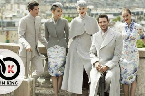 Best Stewardess Uniforms in the World Chinese Airlines' Haute Couture Uniform
