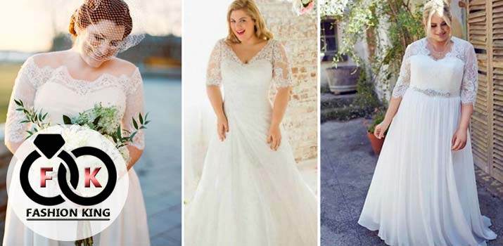 Best Wedding Dresses for Plus Size Brides, It's Amazing