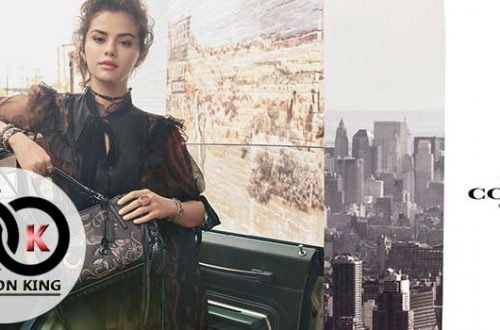 Coach Select Back Selena Gomez Starring Winter Winter 2018 Campaign