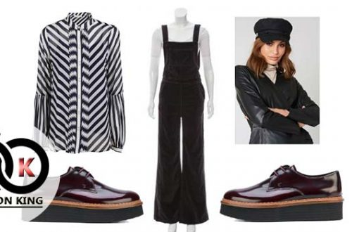 Create The 90s Style with This Overall Combination